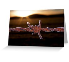Wire'n'ice Greeting Card