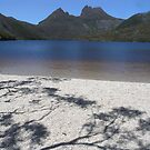 Cradle Mountain across Dove Lake - Tasmania, Australia by pocketdelight