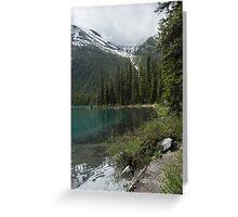 Maligne Lake 9  Greeting Card
