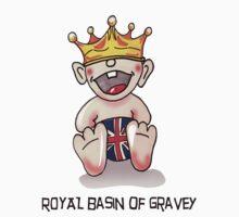 Royal Basin of Gravey Kids Tee