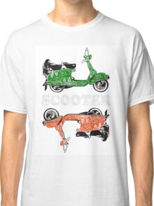 scooter retro looks Classic T-Shirt