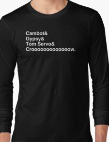 Robot Roll Call Long Sleeve T-Shirt