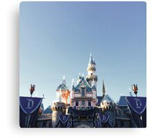 Disneyland 60th Canvas Print