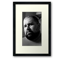 Distrust Framed Print