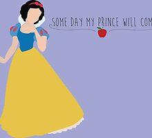 -Snow White Some day my prince will come by spiritofdisney