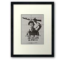 Guerrilla Framed Print