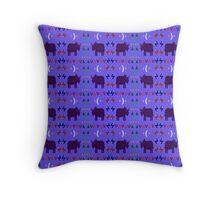Rhino Sky #3 Throw Pillow