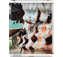 Rusty Corrugations - Monto, Queensland, Australia iPad Case/Skin