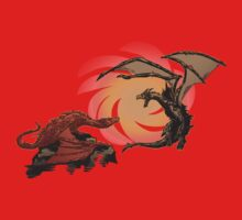 Alduin vs. smaug One Piece - Long Sleeve