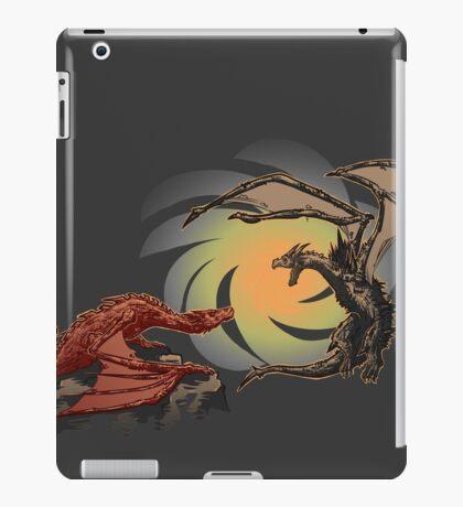Alduin vs. smaug iPad Case/Skin