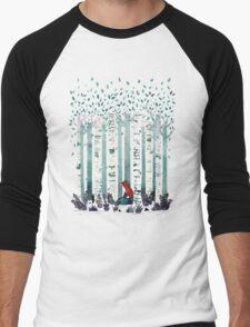 The Birches Men's Baseball ¾ T-Shirt