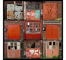 Doors of Zeche Zoolverein Photographic Print