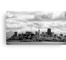 San Francisco, the skyline Canvas Print