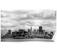 San Francisco, the skyline Poster
