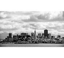 San Francisco, the skyline Photographic Print