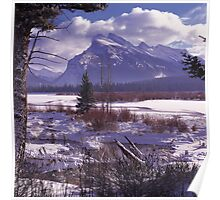 Vermillion Lake Winter Poster