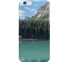 Canoes on Lake Louise iPhone Case/Skin