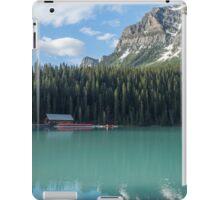 Canoes on Lake Louise iPad Case/Skin