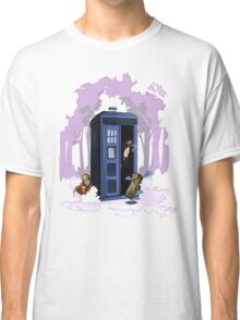 Kawarimi no jutsu - purple version Classic T-Shirt