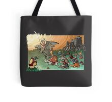 Epic battle! Tote Bag
