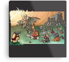 Epic battle! Metal Print
