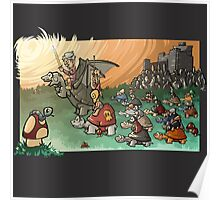 Epic battle! Poster
