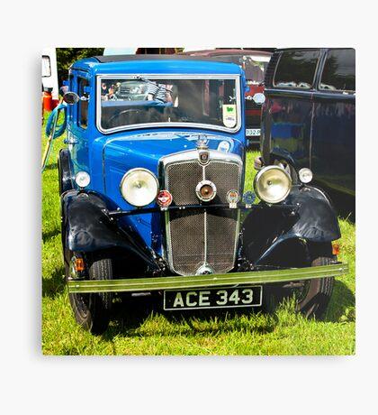 1934 Morris 10/4 Vintage Car Metal Print