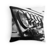 Dials Knobs and Switches Throw Pillow