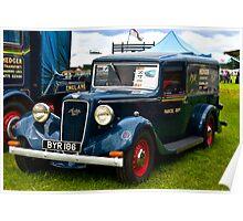 1935 Austin Six  Vintage Car Poster