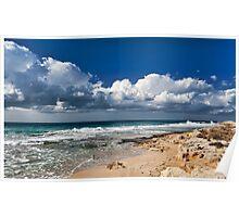 Winter Beach Poster