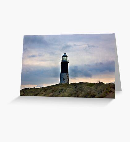 Spurn Head Lighthouse. Greeting Card
