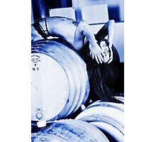 Winery Finery1 Photographic Print