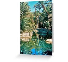 Source Bleue de Meski II Greeting Card
