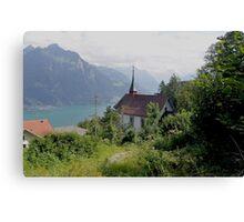 Seelisburg Switzerland Canvas Print