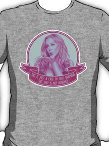 Amy Schumer Quote Design T-Shirt