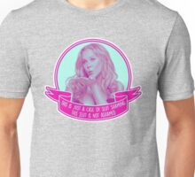 Amy Schumer Quote Design Unisex T-Shirt