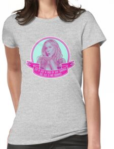 Amy Schumer Quote Design Womens Fitted T-Shirt
