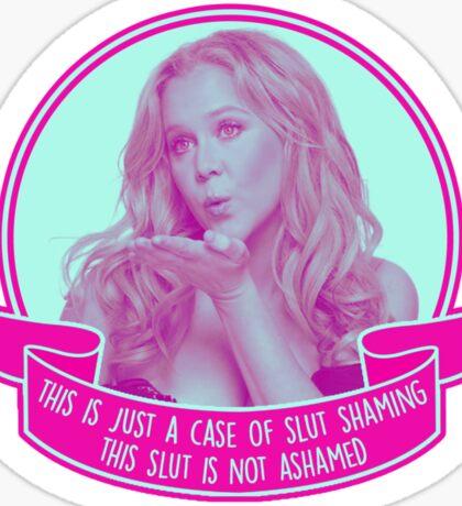 Amy Schumer Quote Design Sticker