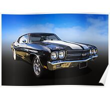 Chevy Muscle Poster