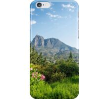 A view of Puig Campana iPhone Case/Skin