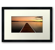 Janina's View Framed Print