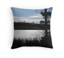 Light on the Lake - Lake Burley Griffin ACT Throw Pillow
