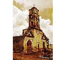 Disused church, Trinidad, Cuba Photographic Print