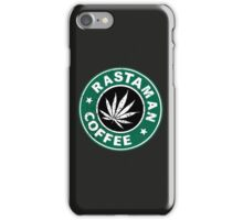 RASTAMAN COFFEE iPhone Case/Skin