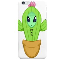 Alien Cactus Lord iPhone Case/Skin