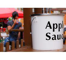 apple sauce Photographic Print