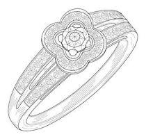 Sample Ring Patent Drawing by devalpatrick