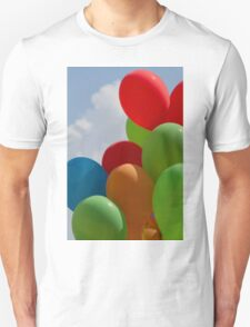 colorful balloons Unisex T-Shirt