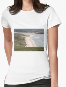 Lagg Beach Malin Co Donegal Ireland Womens Fitted T-Shirt
