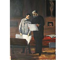 Advice to a Young Artist by Honore Daumier Photographic Print